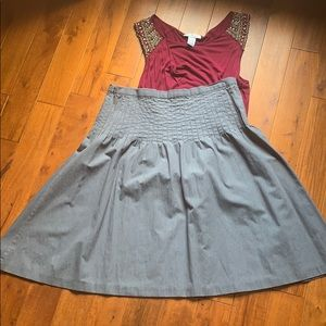 NWOT Isaac Mozarabic (for Target) blue skirt